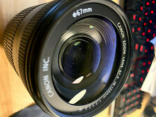 Canon EF-S 18-135mm f/3.5-5.6 IS Lens, as-is condition