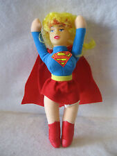 1991 DC Comics SUPERGIRL Japanese UFO catcher prize toy VINTAGE plush doll toy !