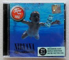 Nevermind by Nirvana 2011 Digitally Remastered Malaysia CD Brand New Sealed