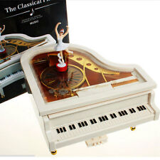 New Mechanical Classical Piano Music Box Alice Dancing Ballerina Musical Toy 859