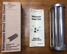 The Pampered Chef Valtompia Bread Tube Flower mold plus recipe booklet #1550