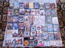 Big Bundle Lot Of Video Games, DVDs + Bluray PS1, 2, 3 Xbox 360, Wii DS Sega PC