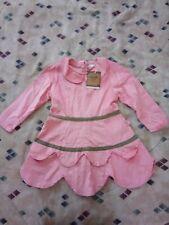 Tresor Bebe Girls Dress 5-6T, Pink