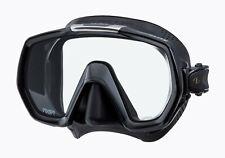 Tusa Freedom Elite Mask Scuba Diving, FreeDiving, Snorkeling Black M-1003QB-BK