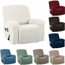 Anti-Slip Stretch Recliner Slipcover 1 Seat Sofa Protector Lazy Boy Chair Cover