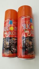 2 PACK  PEACH SCENTED Silicone GLOSS Car Valeting Cleaner Dashboard DASH SHINE