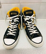 Converse Adult Star Player Plus Yellow Ev Mid High Size Uk 8 121753