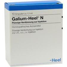 GALIUM HEEL N 10St Ampullen PZN:1675711