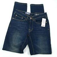 IZOD Comfort Stretch Slim Straight Fit Mens Jeans Size 30x32 Blue - $59.50 NEW