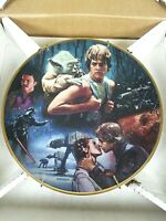 Star Wars Trilogy The Empire Strikes Back Hamilton Collection plate