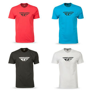 Fly Racing Men's F-Wing Short Sleeve Tee Shirt