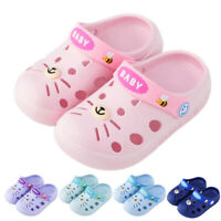 Toddler Infant Baby Kids Girl Boys Home Slippers Cartoon Floor Shoes Sandals