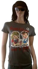 Amplified American retro Happy Go Lucky Comic t-shirt L