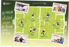 STAMP / TIMBRE FRANCE NEUF BLOC N° 97 ** SPORT / COUPE DU MONDE FOOTBALL 2006