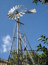 Molino de viento para sacar agua AERMOTOR original USA año 1,929