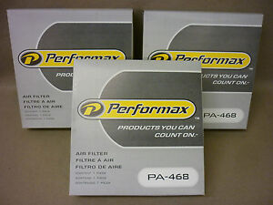 3 PERFORMAX PA468 AIR FILTERS PA-468 - DODGE CHRYSLER