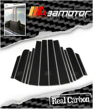 Carbon Fiber Door Pillar Panel Decal Covers for Nissan Versa/Tiida 2007-2012 C11