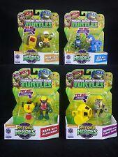 Teenage Mutant Ninja Turtles Half-Shell Heroes Construction Series Set/Lot of 4