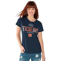 Auburn Tigers Women's T Tee Shirt Medium Round The Bases Short Sleeve NCAA