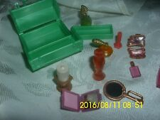 MATTEL BARBIE MY SCENE DOLL MAKE-UP CASE WITH ITEMS INSIDE PERFUMES COMPACT