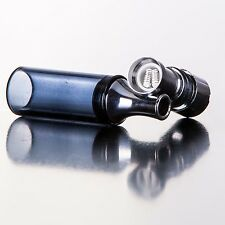 Straight Black Glass Globe -Titanium Dual Wickless Coil - Buy 2 Get 1 Free !