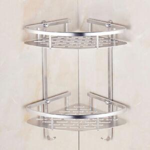 Angolare porta oggetti doccia a 2 ripiani mensola angolare doccia porta sapone