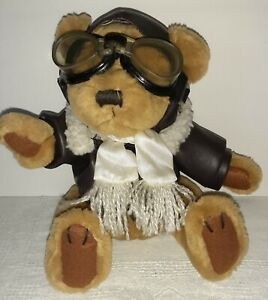 """Pickford Brass Button Collectible Radar Bear 10"""" w/ Outfit"""