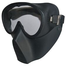 New Protective Airsoft Paintball Tactical Full Face Google Clear Lens Mask
