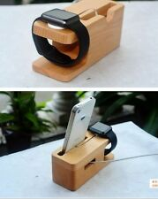 Desktop Stand Holder Charger Docking Station For Apple Watch Series 1/2  iPhone