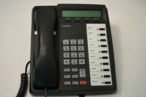 Toshiba Office Business Phone DKT-3010 With 10 Button Extension