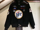Rusty Wallace Chase Authentics Miller Lite Jacket Size L NASCAR #2 Winston Cup
