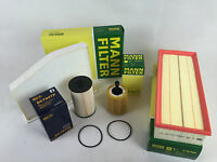 Filtro olio, Aria Abitacolo MANN-FILTER + kraftst. Touran 1T 1/1t22.0 TDI 125KW