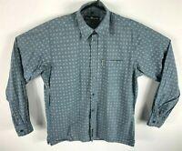 Ben Sherman Men's Shirt Long Sleeve Button Up Size L Vintage Style Dress Shirt