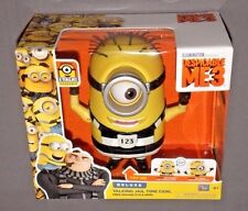 Despicable Me 3 ME3 Jail Time Carl Deluxe Talking Minion Free Moving Eyes & Arms