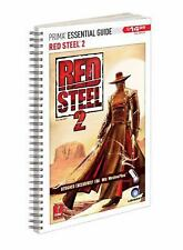 Red Steel 2 II Official Strategy Guide Nintendo Wii - Prima Games NEW SEALED