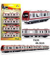 Shanghai Line 2 Subway/Underground Metro 4-Wagons Train Alstom Rare NEW