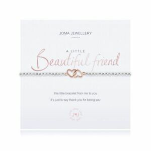 Joma Bracelet A Little Beautiful Friend - With Gift Bag New & Sealed