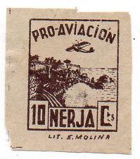 Sello Local Guerra Civil Nerja -Cat. Galvez 517c.  ORD:477