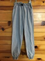 Hanna Andersson Girls Blue Pants Size 140 10 12