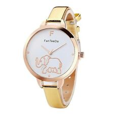 Adult / Teen - GOLD ELEPHANT Quartz Watch with GOLD Strap