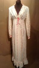 Womens Vintage Boho Hippie Maxi Dress Sz PM