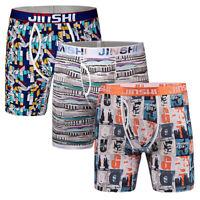 3er Pack Herren Boxershorts Unterhose Bambusfaser Unterwäsche Boxers