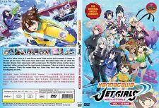 ANIME DVD~UNCUT~Kandagawa Jet Girls(1-12End)Eng sub&All region FREE SHIP+GIFT