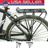 Mountain Bike Bicycle Rear Seat Luggage Shelf Rack Cargo Carrier Aluminum Cycle