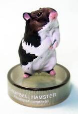 Kaiyodo Bottle Cap Figure Hamster's Lunch Campbell's dwarf hamster Grey color