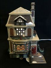 Department 56 Dickens Village Series Fred Holiwells House #56-5849 Dated 2001