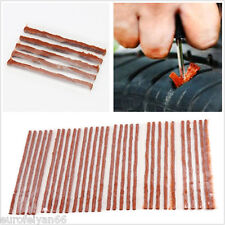 50 X Practical Automobiles Tubeless Tire Tyre Puncture Repair Kit Strips 5X100mm