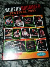 """MODERN DRUMMER FESTIVAL 2005"" DVD Featuring 13 Greatest Drummers EVER & 7 hrs"