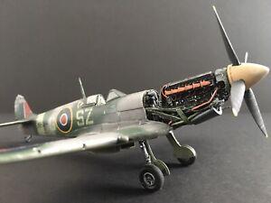 WW2 Spitfire Merlin Engine Build built & weathered for display