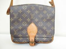 Auth LOUIS VUITTON Monogram Cartouchiere MM M51253 Shoulder Bag 881SL